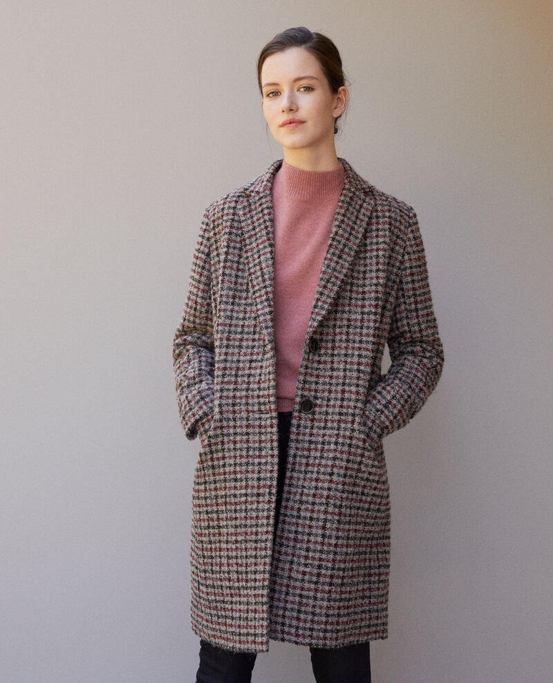 Straight fit coat Red Gitchinie