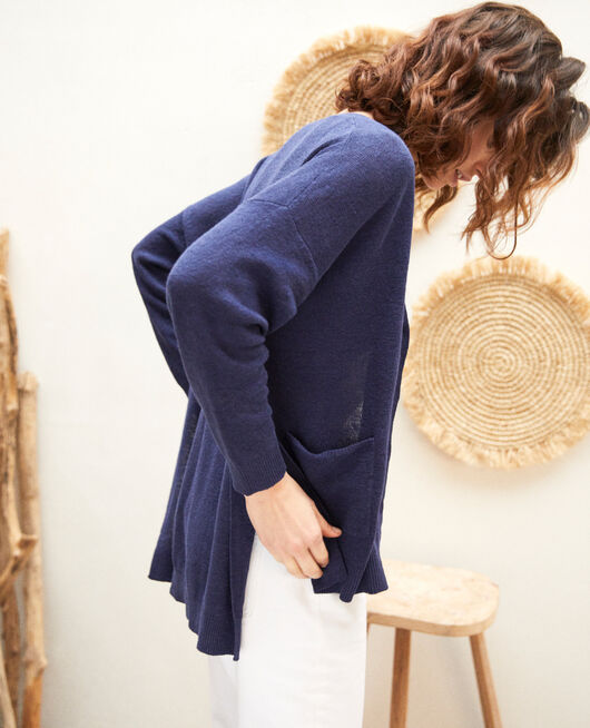 Oversize cardigan INK NAVY