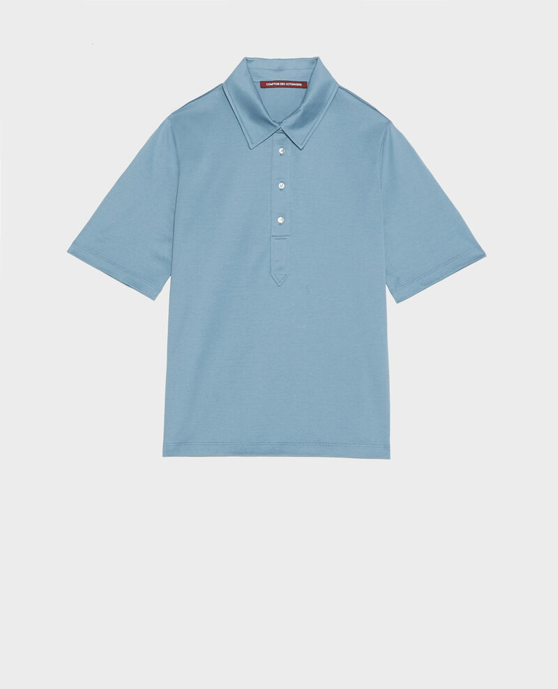 Egyptian cotton polo shirt Bluestone Levas