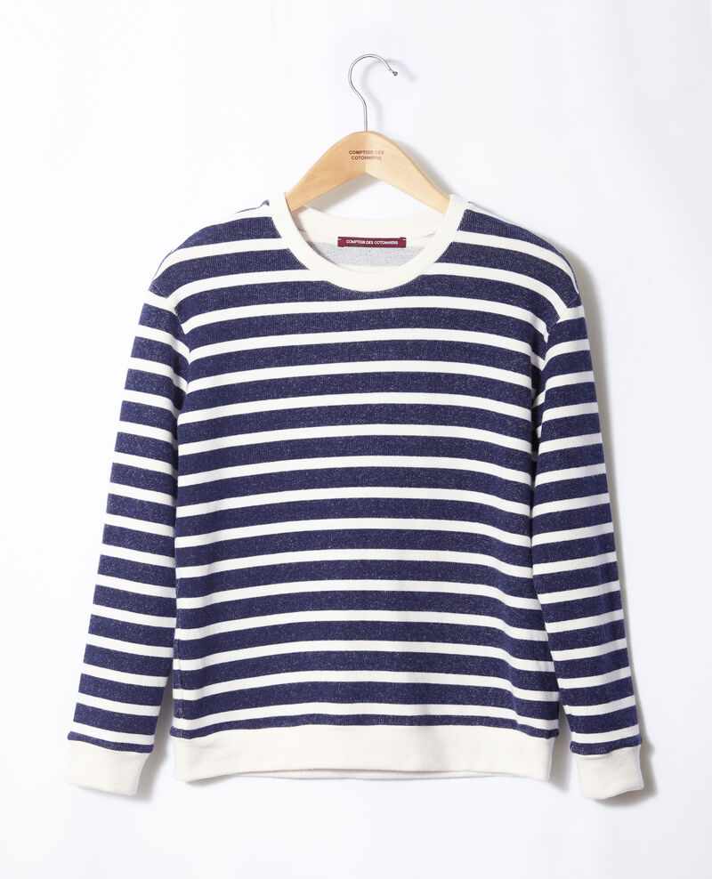 Striped sweatshirt White Gikrame