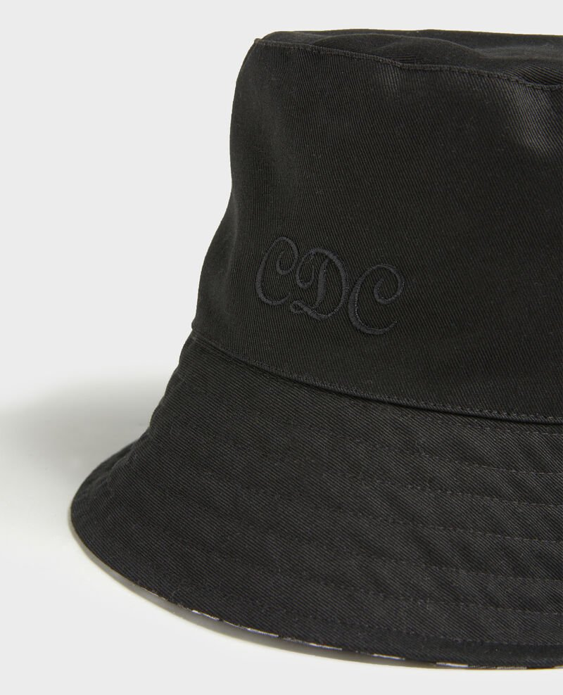 Bucket hat Black vichy black Looker