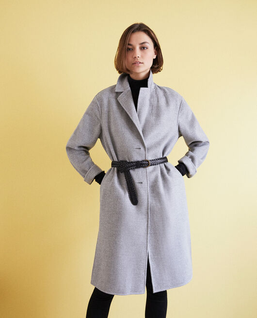 Double-sided coat LIGHT GREY