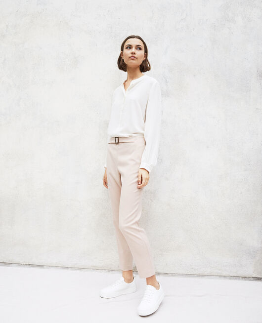 Straight-leg trousers PINK BEIGE