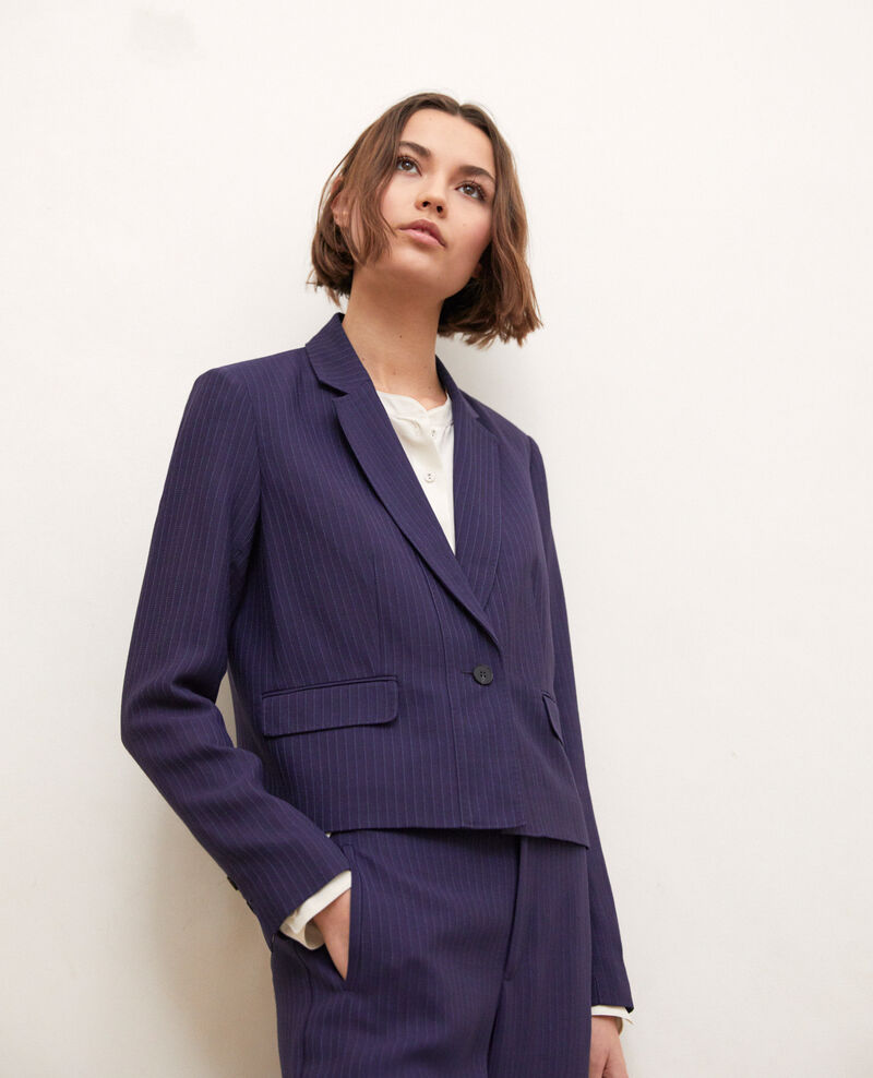 Short blazer Ink navy/dark navy Ireille