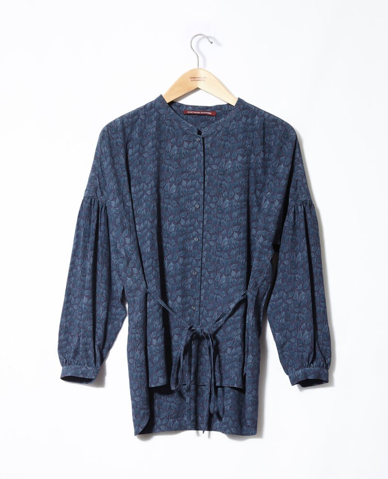 Loose blouse Blue Garuya