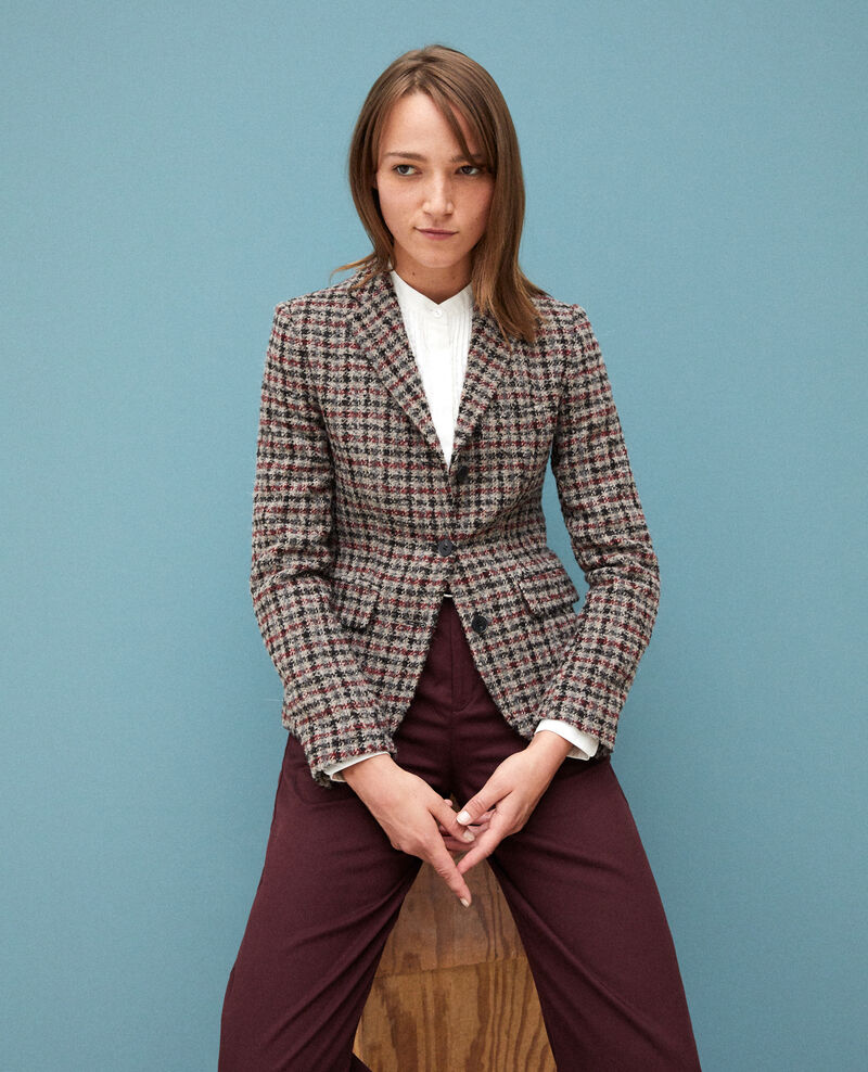 Wool blend blazer Red Gorte
