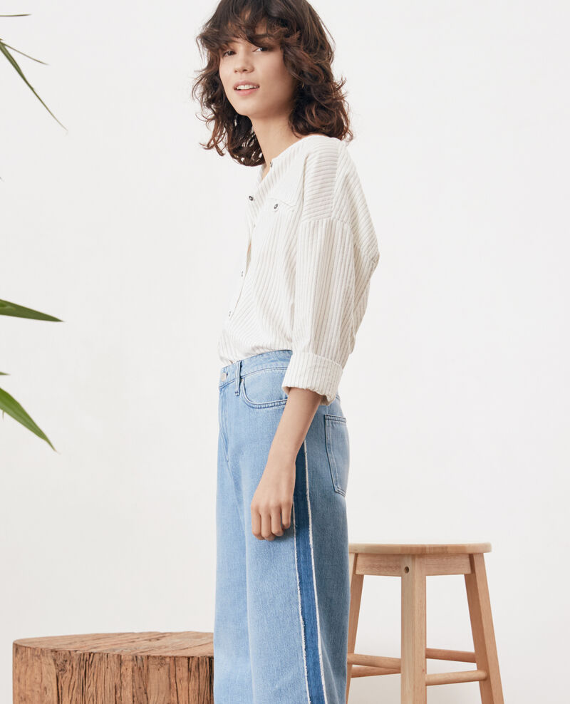 Cropped jeans Vintage wash Frotripe