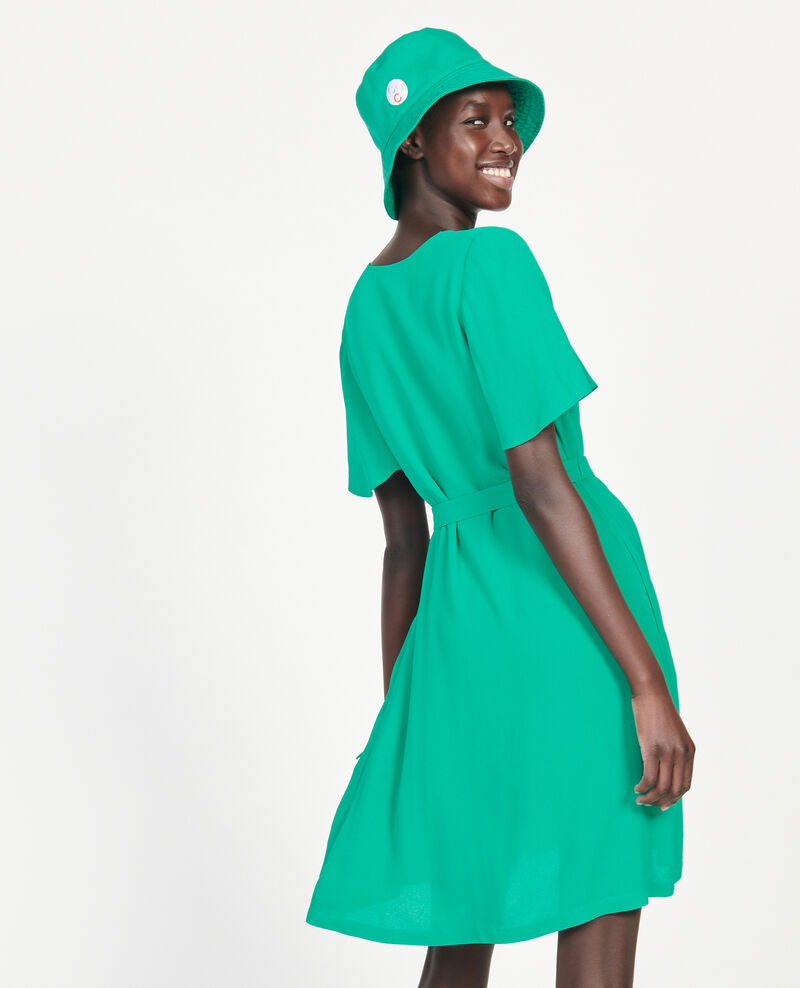 Loose dress Golf green Lavishort