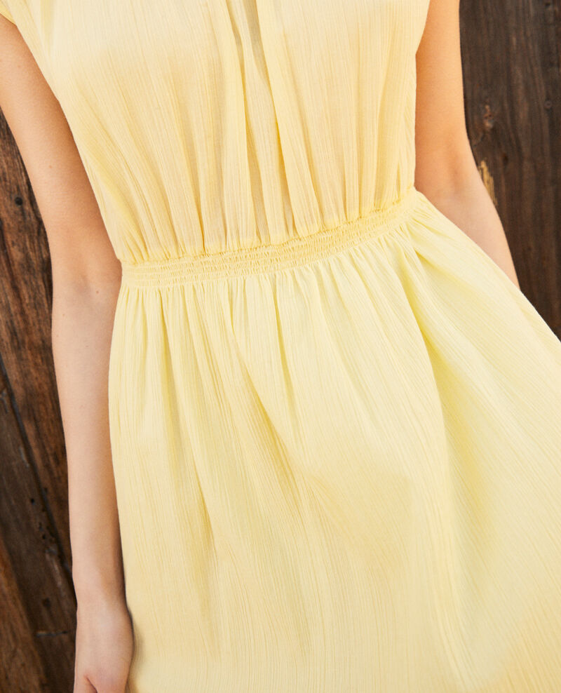 Mid-length dress Spice yellow Idem