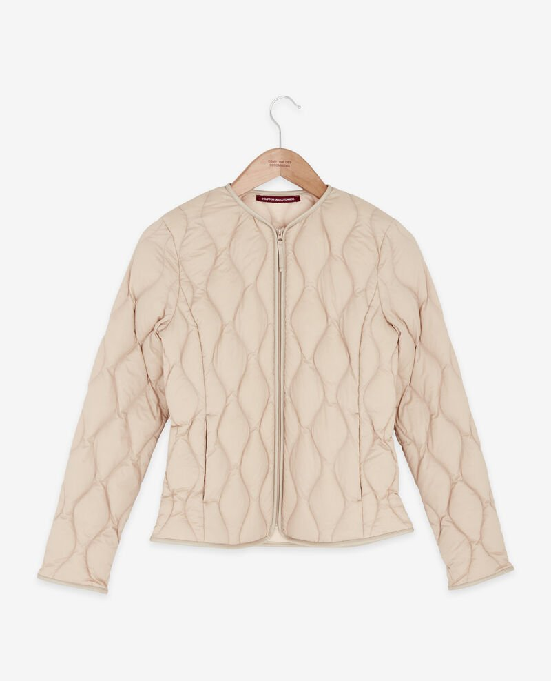 Pocketable down jacket Tan/nude Folin