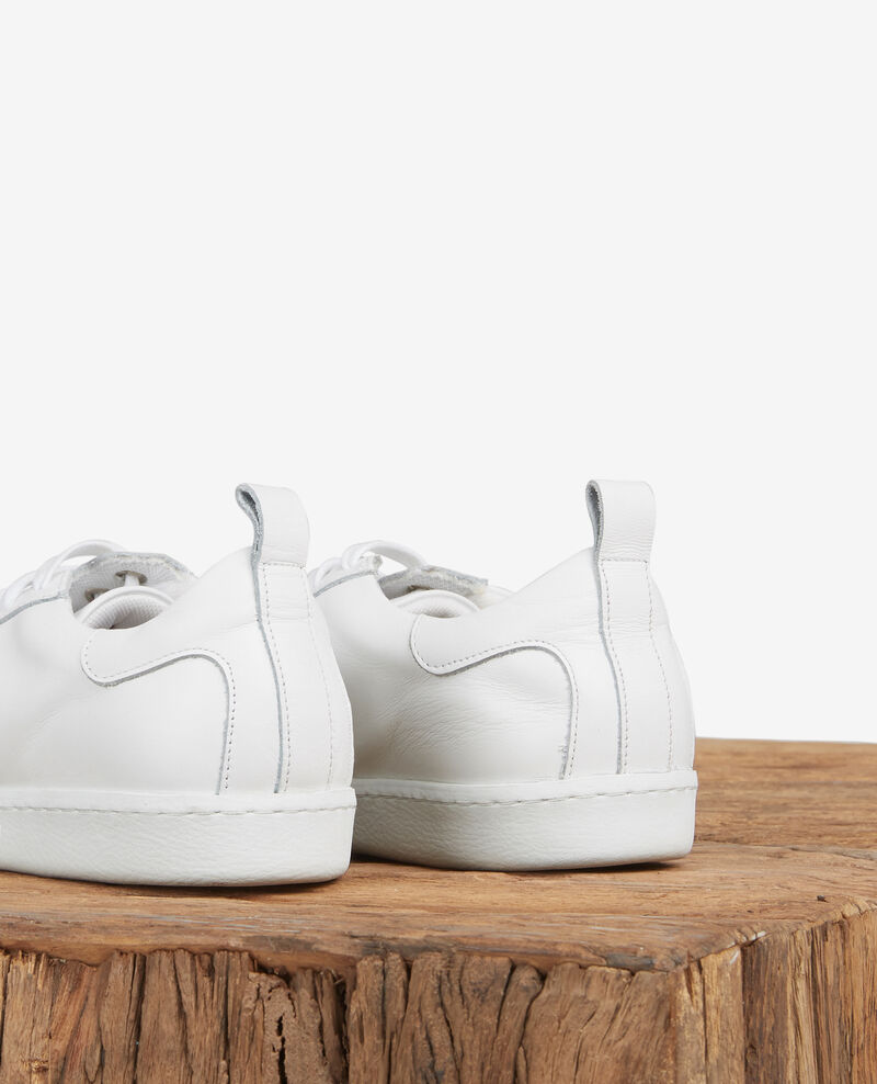 Leather trainers Off white Delaver