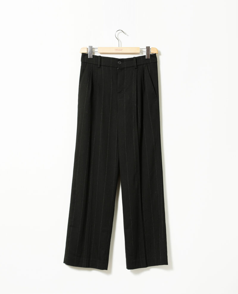Loose fit trousers Black Gorgonie