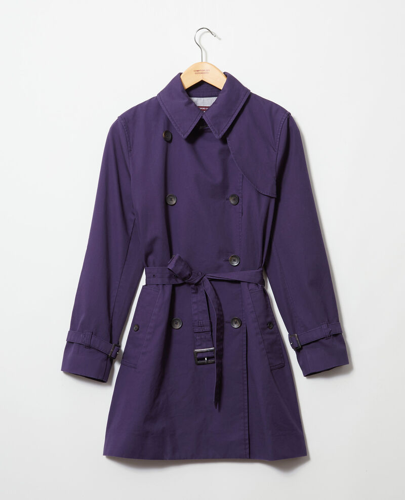 Timeless trench coat Ink navy Isore