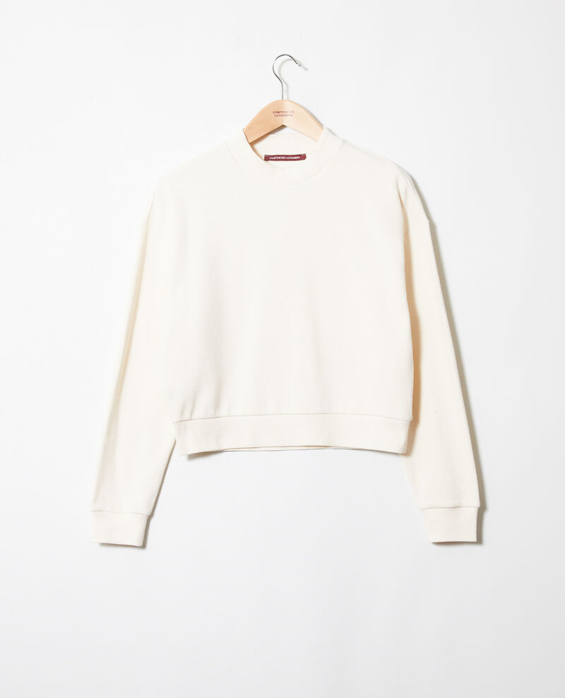 Short sweatshirt Buttercream Jizela