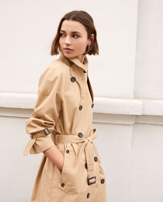 Timeless trench coat SAFARI BEIGE