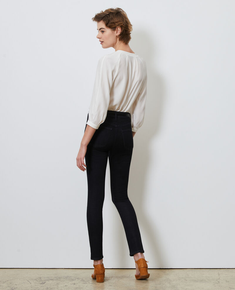 DANI - SKINNY - High waisted jeans Rinse wash Nauke
