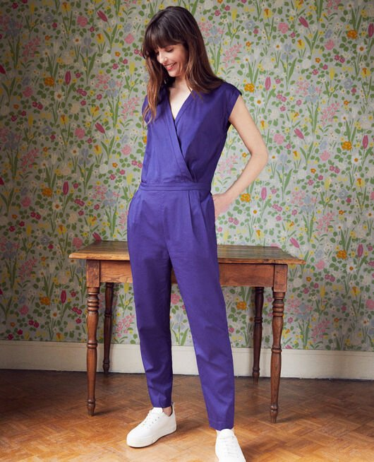 Wrapover jumpsuit ASTRAL AURA