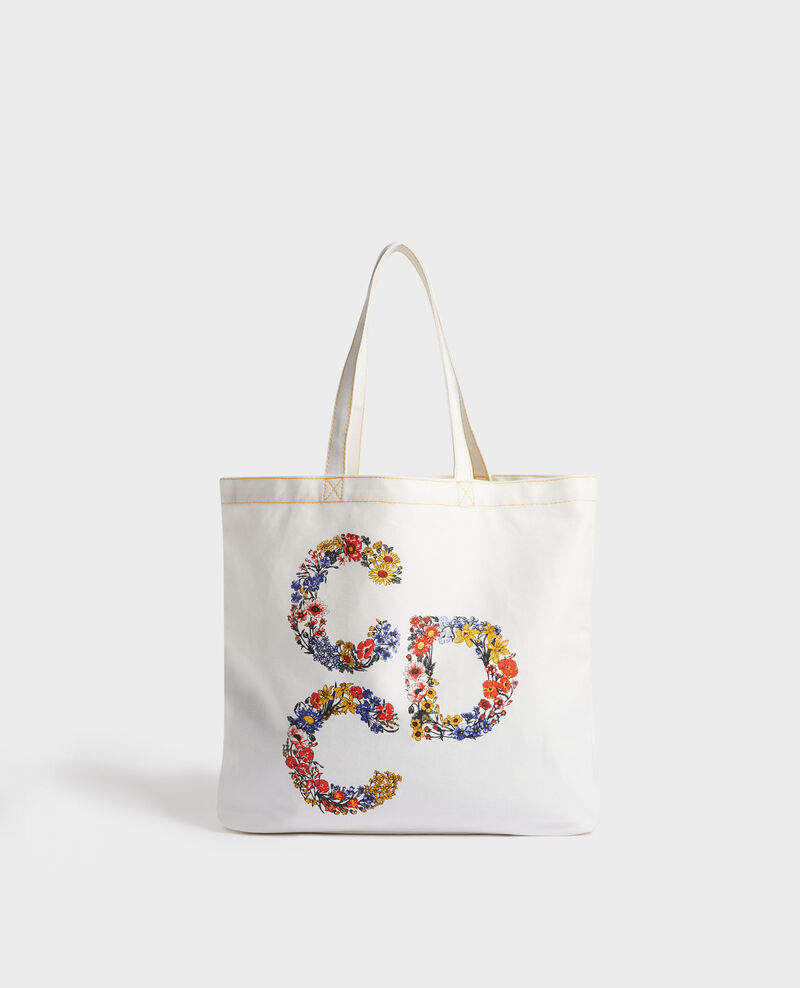 Printed canvas bag Gold fusion Moncdc