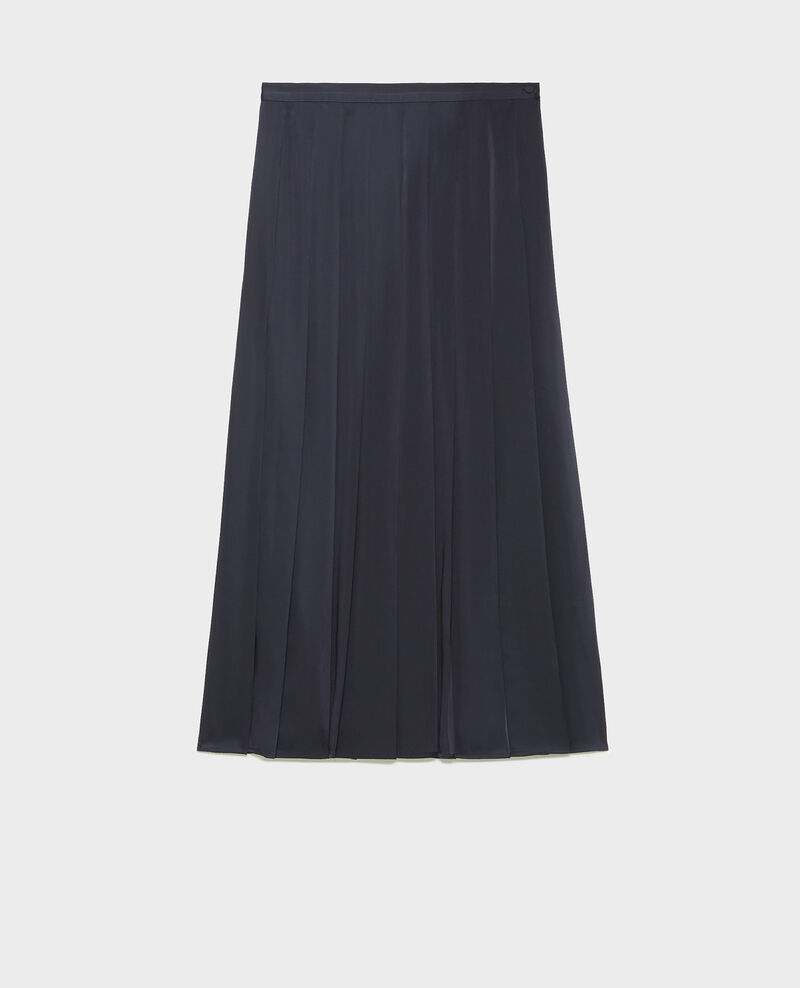 Maxi flat pleat skirt Night sky Mialas