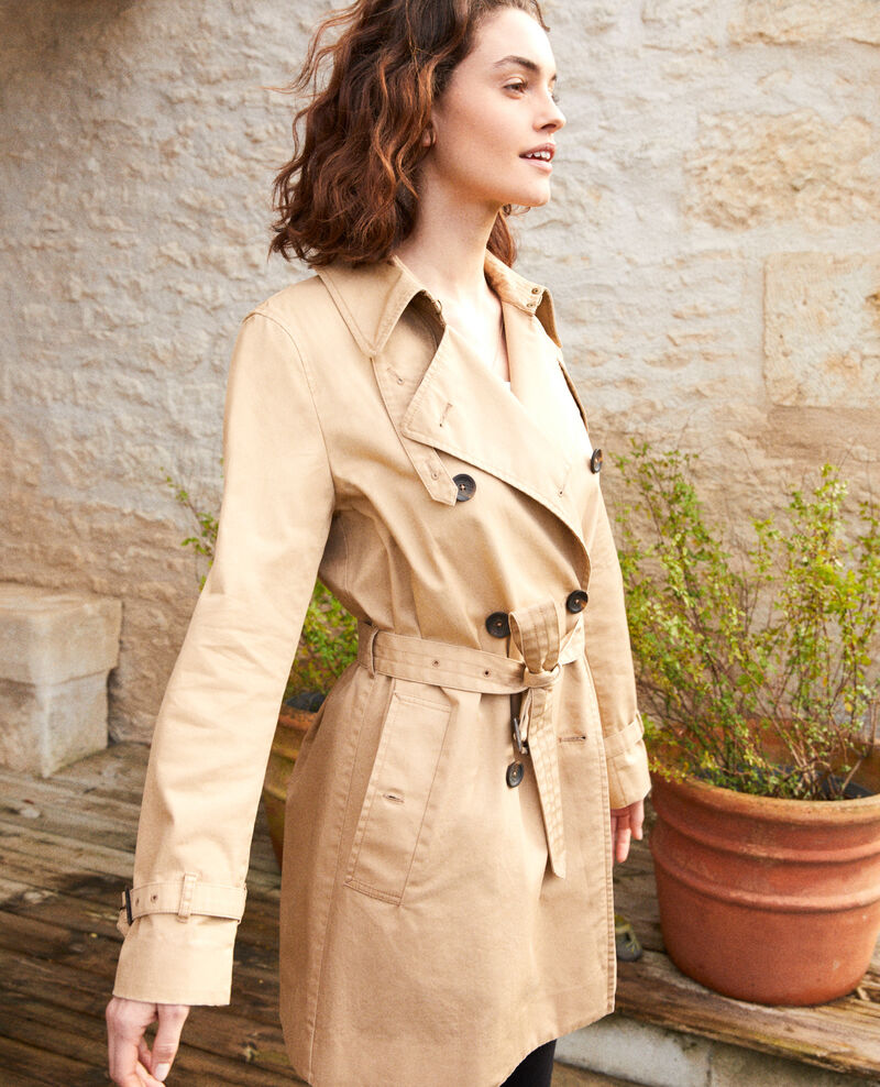 Timeless trench coat Safari beige Isore