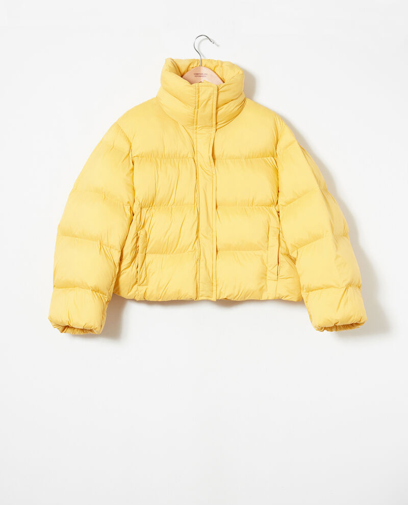 Oversize padded jacket Spicy mustard Jacoby