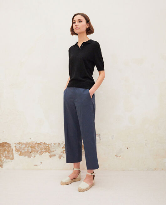Carrot trousers INK NAVY