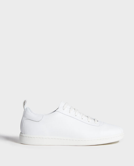 Leather sneakers  OPTICAL WHITE
