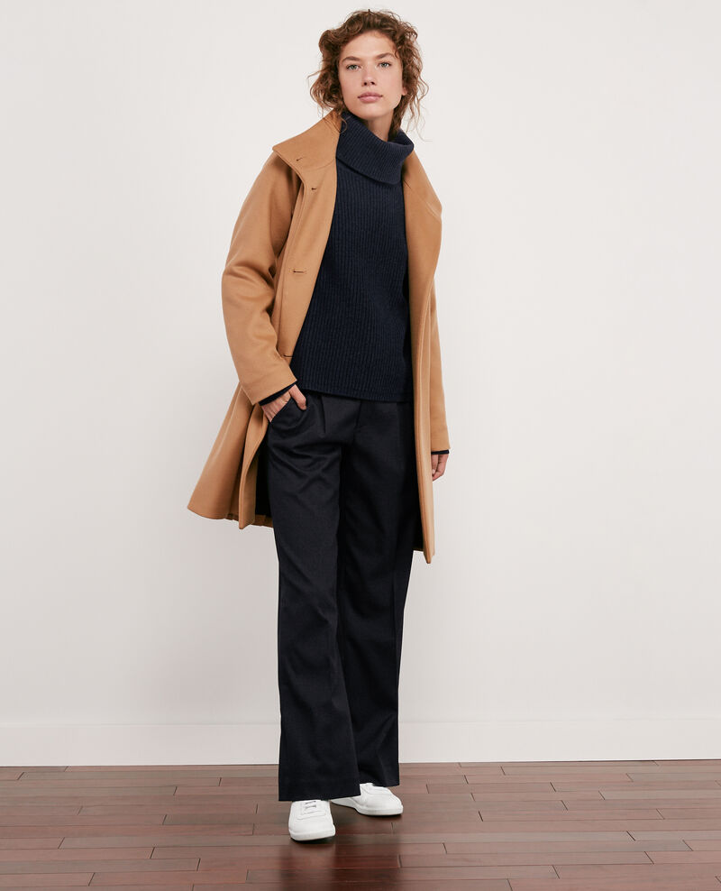 Wool coat Chamois Dyera