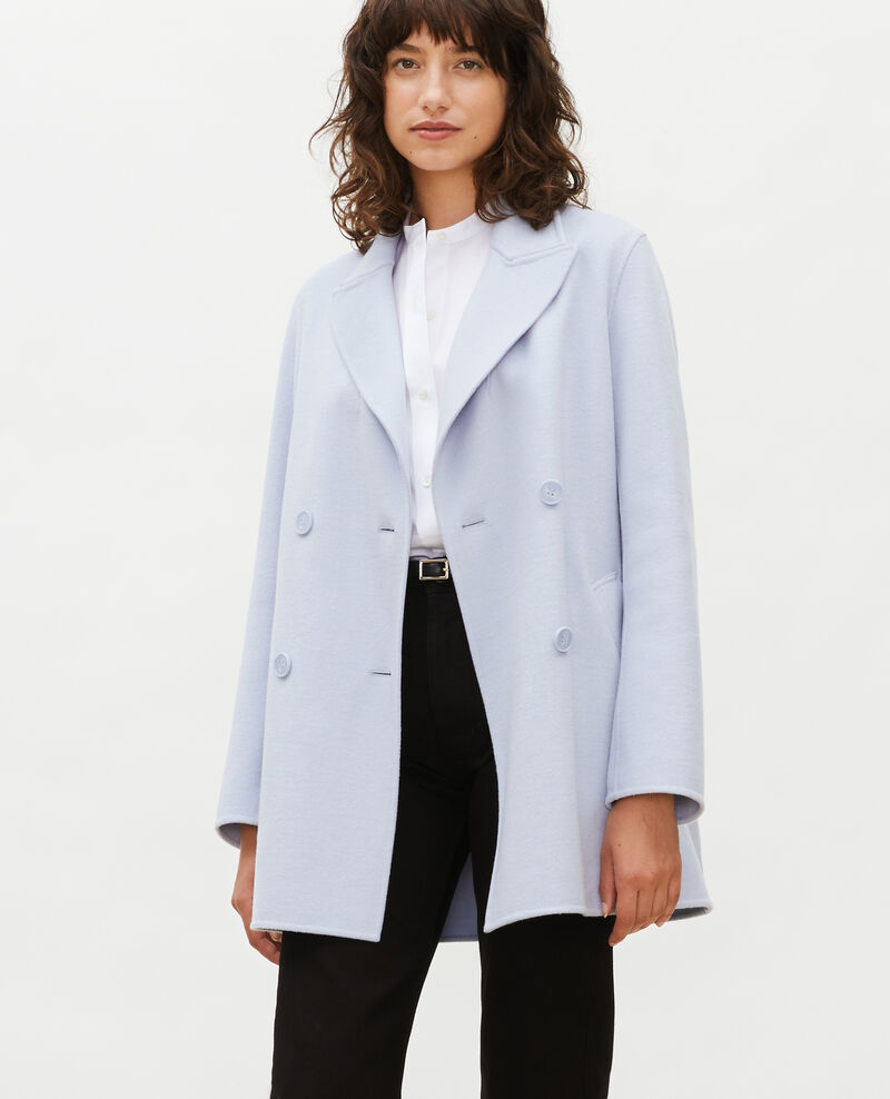 Double-sided wool pea coat Heather Lintot