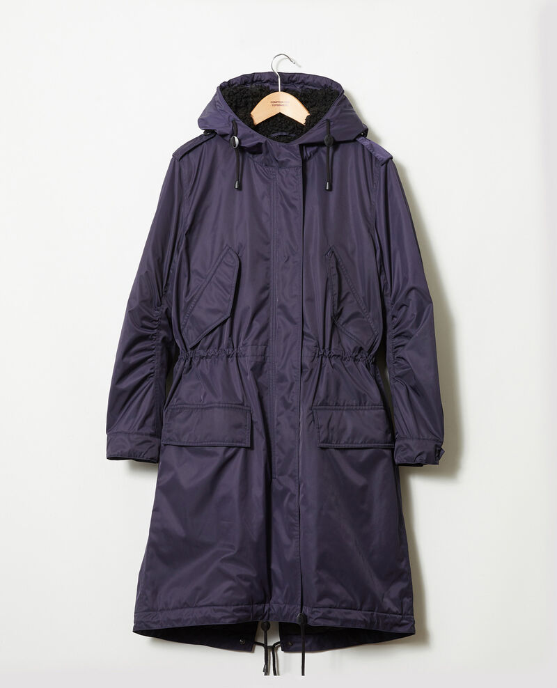 Hooded parka Evening blue Jarosse