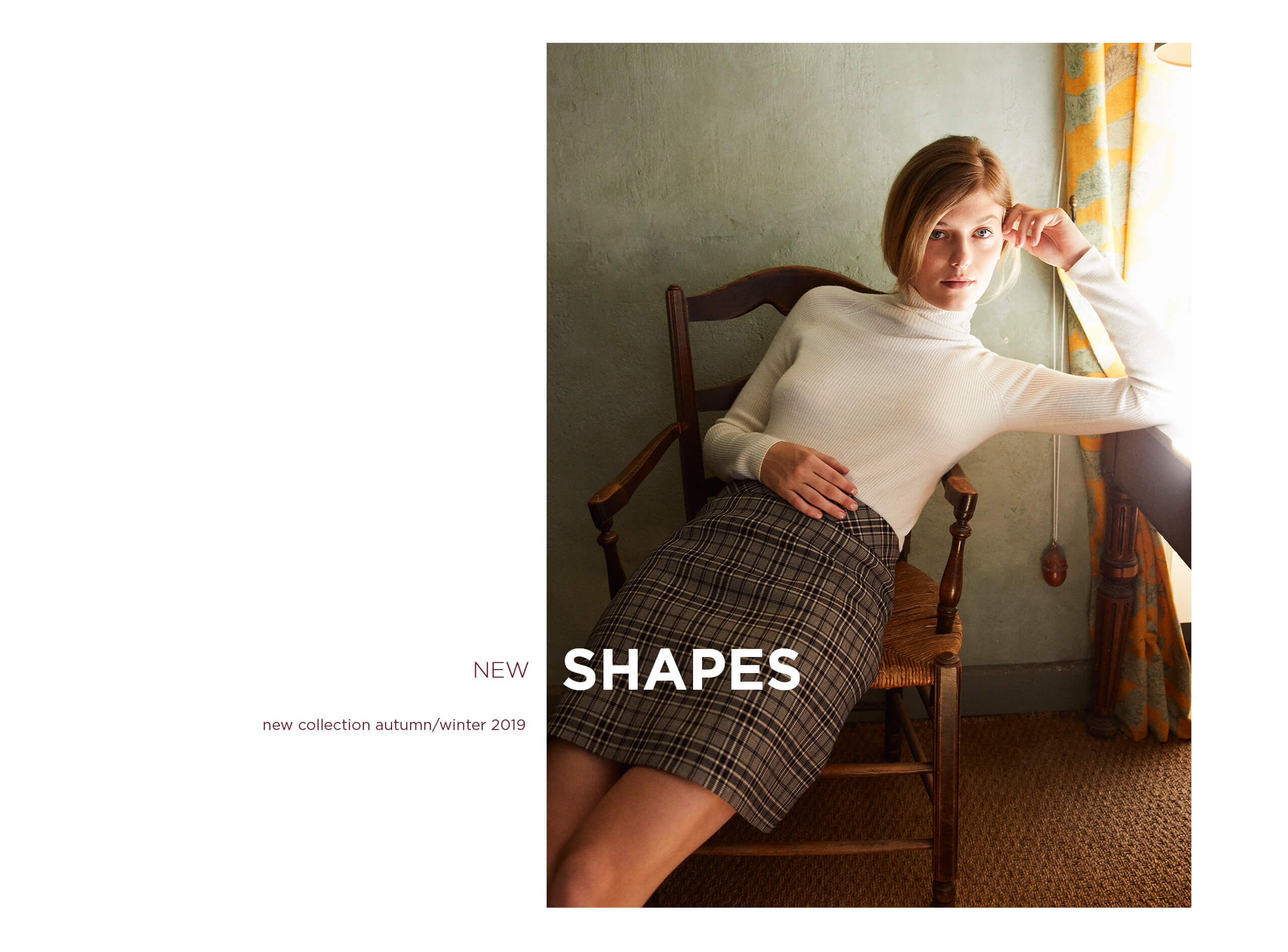 New shapes AW19