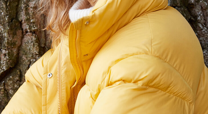 New quilted coat