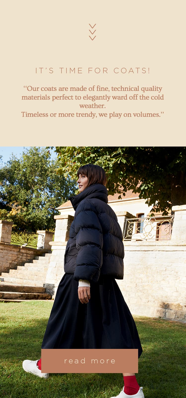 £50 off on your cashmere coat