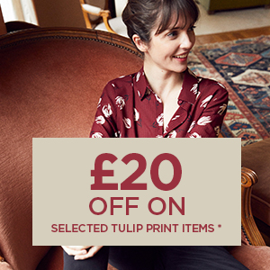 £20 off on selected Tulip print items