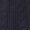 Cable-knit jumper Dark navy Jop