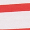 STRIPES OPTICAL WHITE FIERY RED